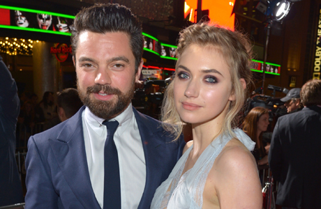 """Dominic Cooper and Imogen Poots at the premiere of """"Need For Speed"""" in Los Angeles on March 6. (Photo: John Shearer/Invision/AP)"""