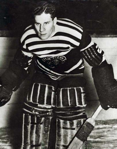 Charlie Gardner as a Winnipeg Tiger.