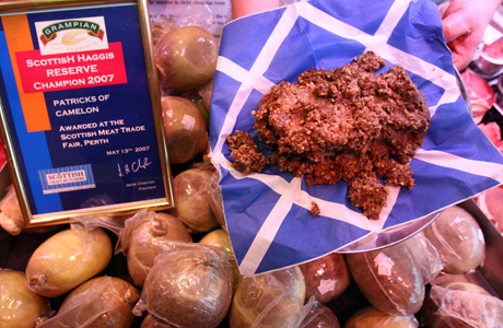 Haggis, a Scottish delacy, is offputting to some. (Andrew Milligan/PA Wire)