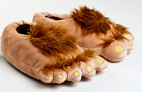 Hobbit feet might be hard to pull off but possibly discreetly under your desk. (BS)
