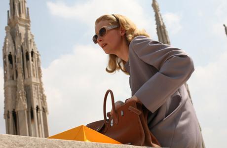 Tilda Swinton stars in the Italian subtitled film I Am Love. (Magnolia)
