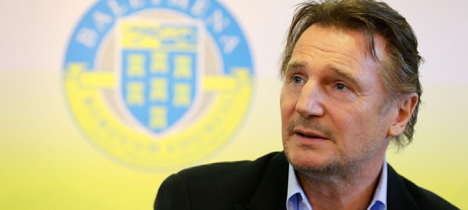 Liam Neeson awarded Honorary Freedom of Ballymena Borough, Belfa