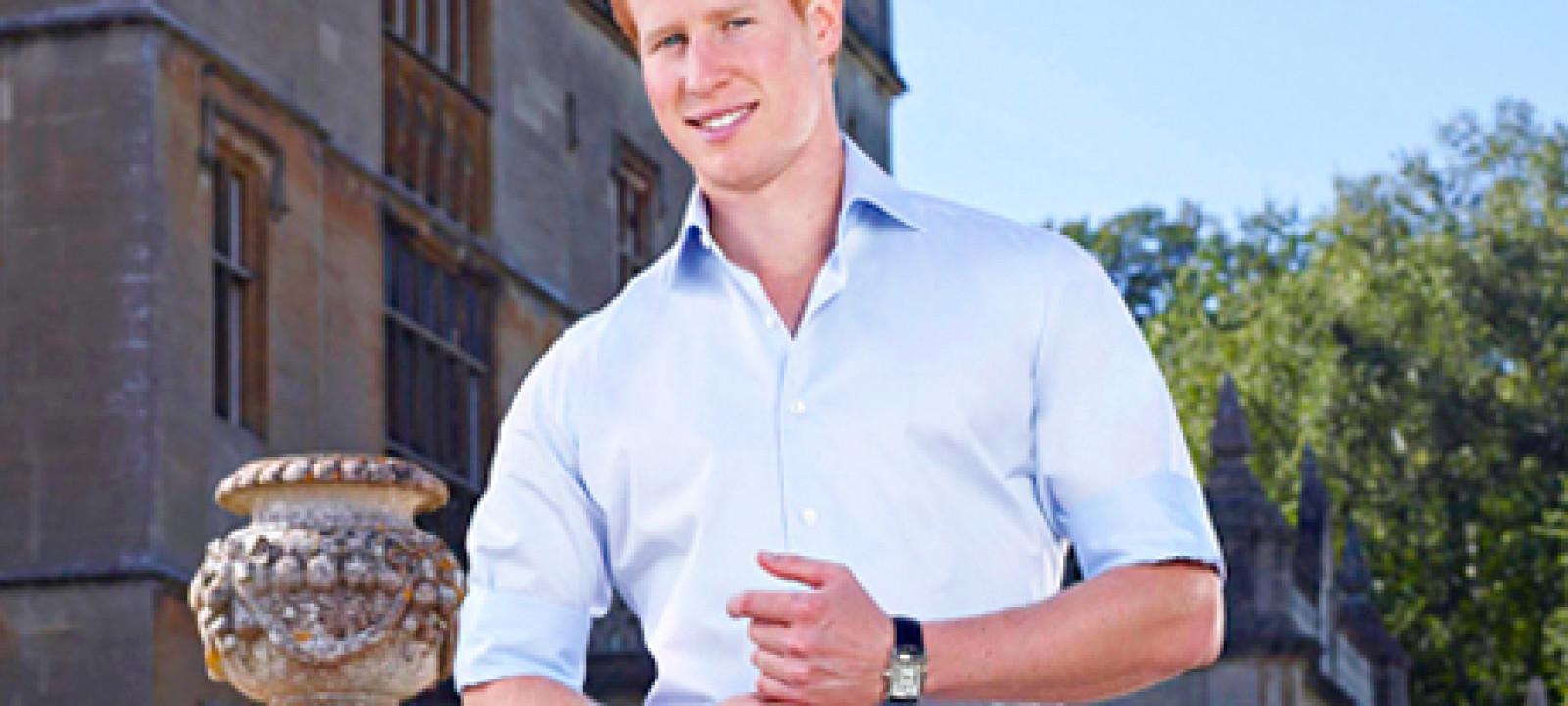 Prince Harry Lookalike