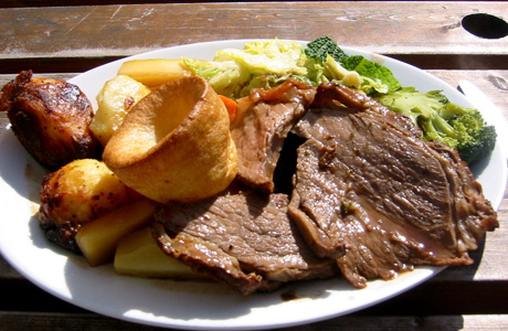 The Sunday Roast has the best of everything. (Wiki)