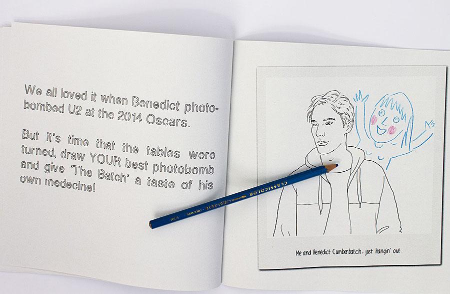 Colour Me Good Benedict Cumberbatch (Mel Elliott/Rex Features)