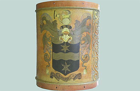 A replica of Sir Francis Drake's drum (Pic: Wikipedia)