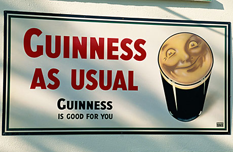The mighty Guinness (Gavin Hellier/Robert Harding /AP Images)