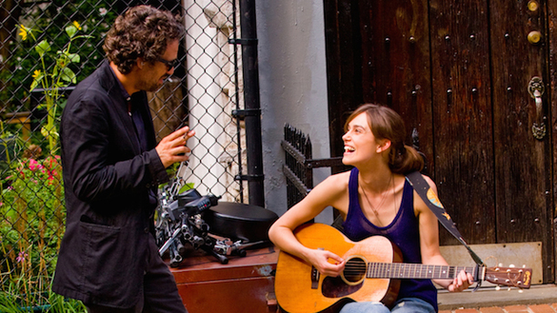 Mark Ruffalo and Keira Knightley from 'Begin Again' (Photo: The Weinstein Company)