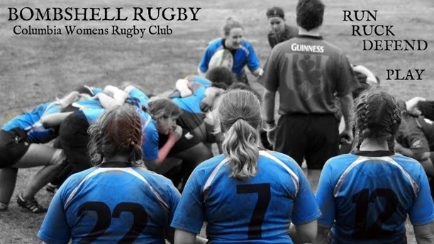 The Bombshell Rugby club makes black and blue look good. (CWR)