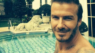 David Beckham, Selfie, Facebook