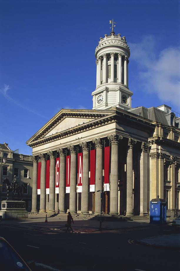 The Royal Exchange, now Stirling Library, Glasgow, Scotland, Uni (Adam Woolfitt/Robert Harding/AP)