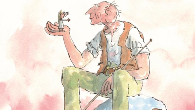 The BFG, Illustration