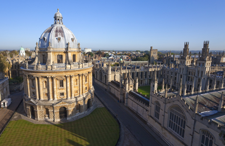 Radcliffe Camera and All Souls College, Oxford University, Oxforord. (Photo by: Peter Barritt/Robert Harding /AP Images)