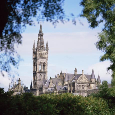 Glasgow University, Glasgow, Strathclyde, Scotland, United Kingd ... Photo by: Rolf Richardson/Robert Harding /AP Images