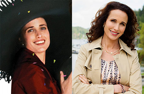 Andie Macdowell as Carrie and in Hallmark's 'Cedar Cove'
