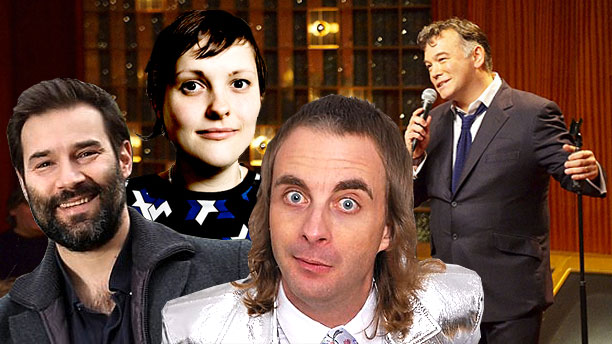 Adam Buxton, Josie Long, Paul Foot and Stewart Lee (Pics: BBC)