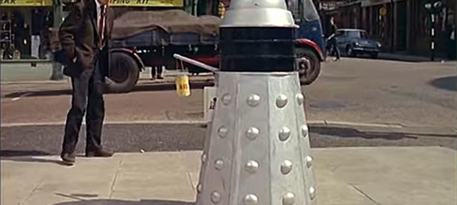High street Dalek (Pic: British Pathe)