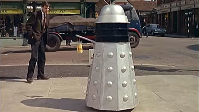 High street Dalek (Pic: British Pathe)
