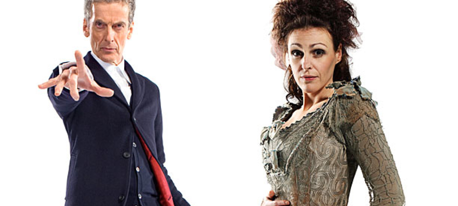 Peter Capaldi and Suranne Jones