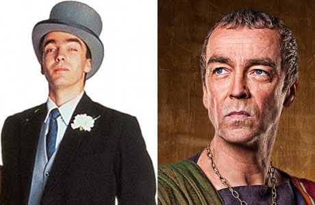 John Hannah as Matthew, and in 'Spartacus'