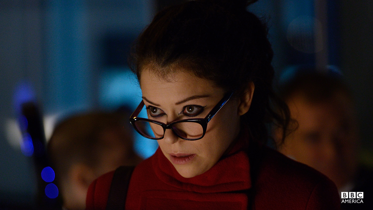 """Shite."" - Sarah Manning as Cosima NiehausGet out your clone scorecards. It's a classic Orphan Black clone swap!"