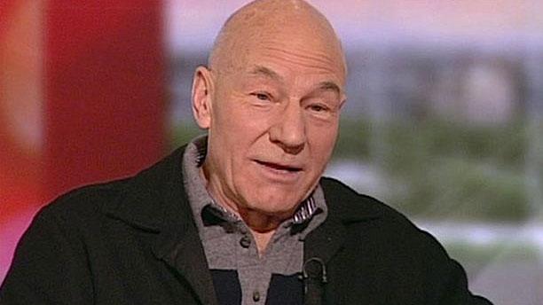 Sir Patrick Stewart (Pic: BBC News)
