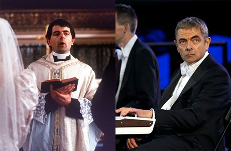 Rowan Atkinson as the hapless vicar, and at the 2012 Olympic Opening Ceremony