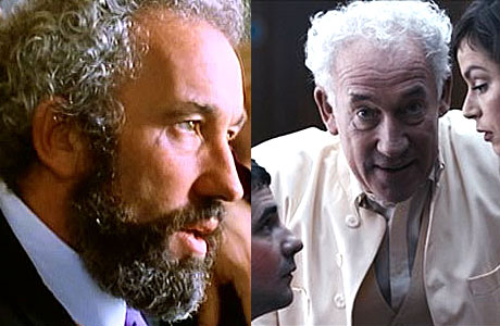 Simon Callow as Gareth, and in 'Acts of Godfrey'