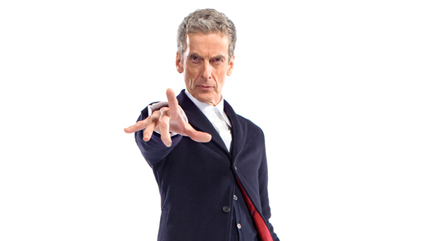 Peter Capaldi as the Doctor. (Photo: BBC AMERICA)