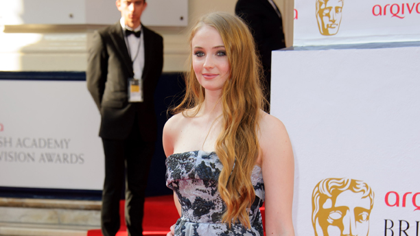 Sophie Turner at the BAFTA TV Awards. (Photo: Jonathan Short/Invision/AP)