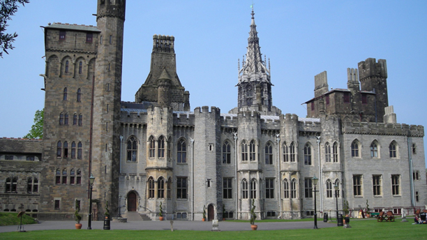 Cardiff Castle is 2000 years old, with construction beginning in the 11th century. (Wiki)