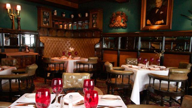 Sir Winston Churchill, Dining Area