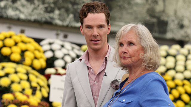 Benedict Cumberbatch and Wanda Ventham