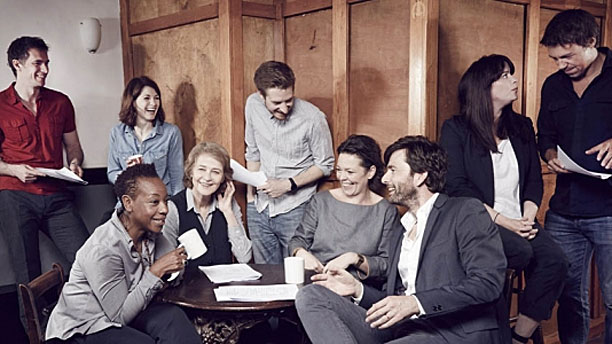 The cast of 'Broadchurch' (Pic: Nicky Johnston/ITV)
