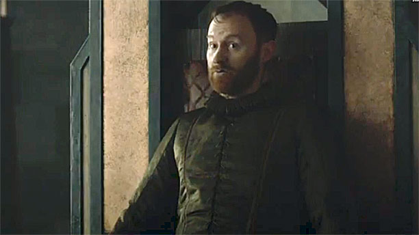 Mak Gatiss arrives in 'Game of Thrones' (Pic: HBO)