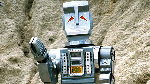 Marvin the Paranoid Android, waving (Pic: BBC)