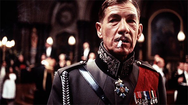 Sir Ian McKellen in the 1996 movie version of 'Richard III'