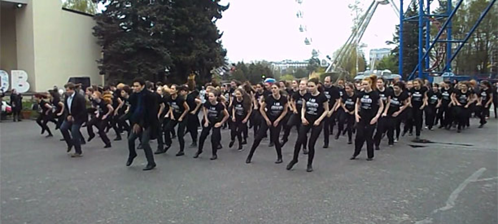 Sherlock Russian Dancemob