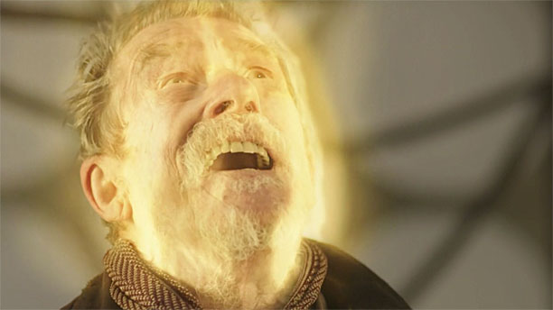 "John Hurt as the War Doctor in ""The Day of the Doctor"""