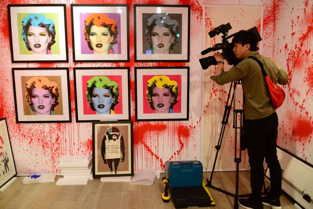 Kate Moss? (Rex Features via AP Images)