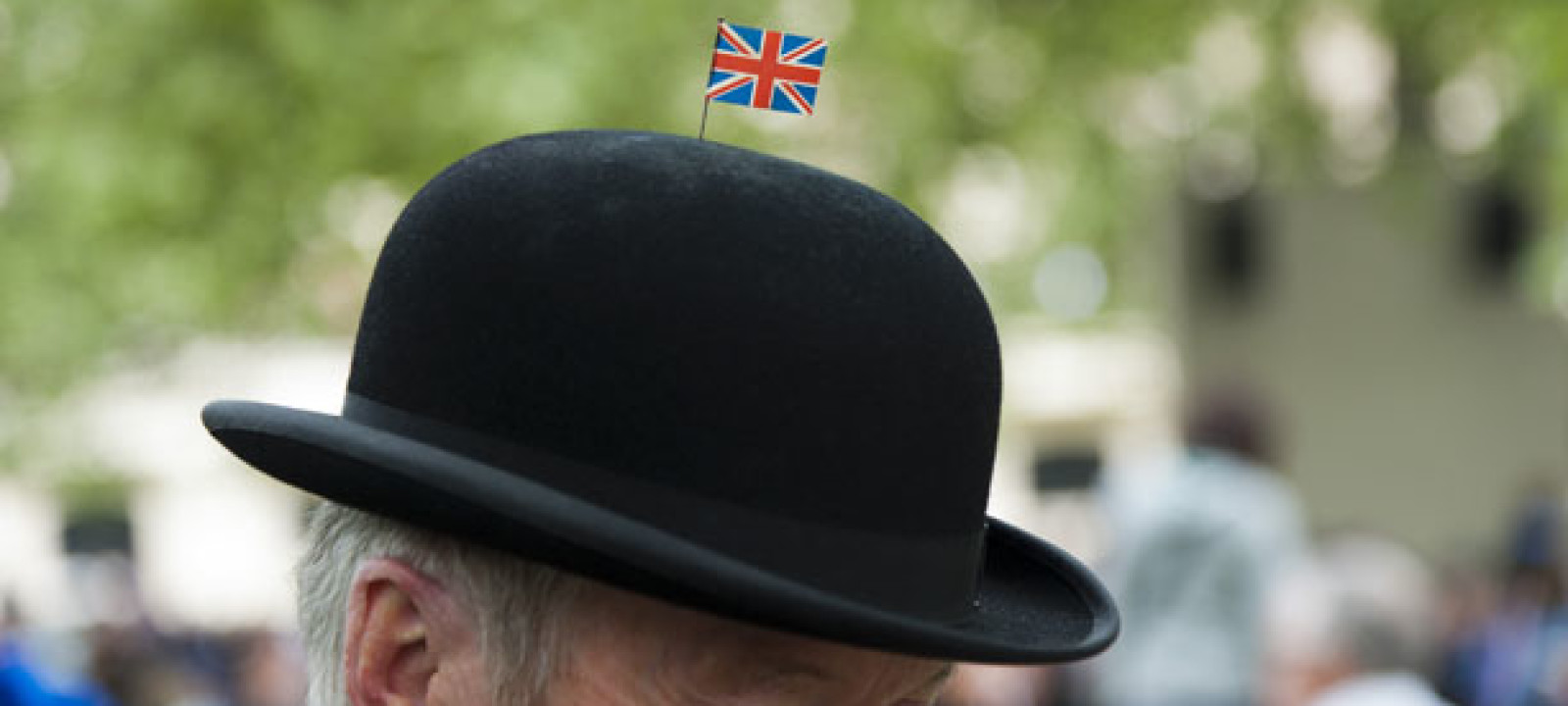 c90b9ac26be 10 Photos of Brits Actually Wearing Bowler Hats
