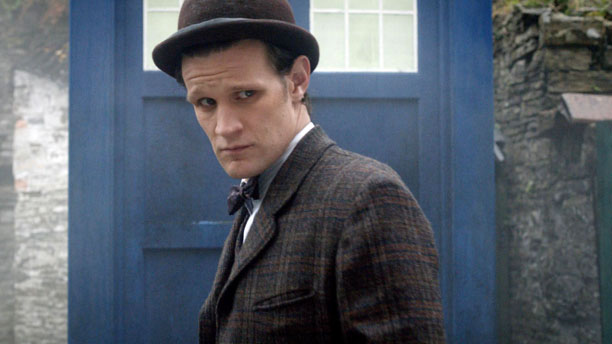 Cheer up, Matt Smith -- the eleventh Doctor looks classic while saving the universe. (BBC)