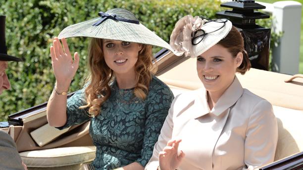 The princesses kept it XX this year.   (Rex Features via AP Images)