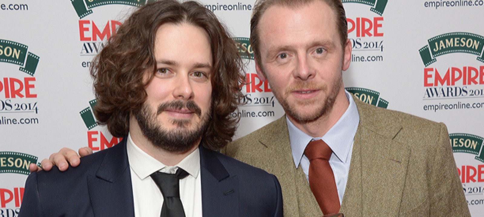 Edgar Wright and Simon Pegg