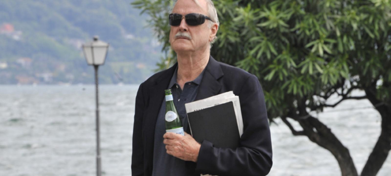 John Cleese at Lake Maggiore