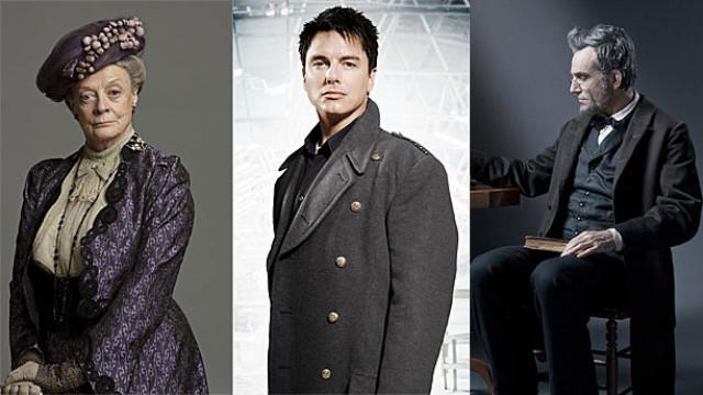 Dame Maggie Smith, John Barrowman and Daniel Day Lewis