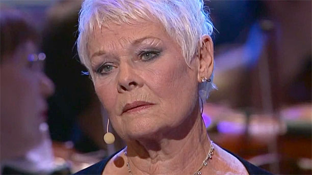 Dami Judi Dench at the BBC Proms 2010 (Pic: BBC)