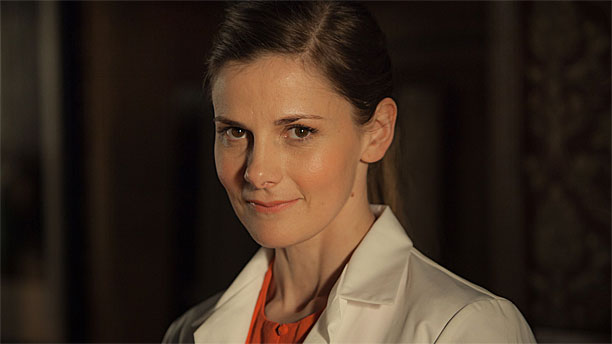 Louise Brealey in 'Sherlock' (Pic: BBC)