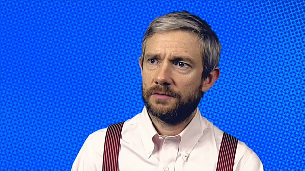 Martin Freeman (Pic: Trafalgar Transformed)