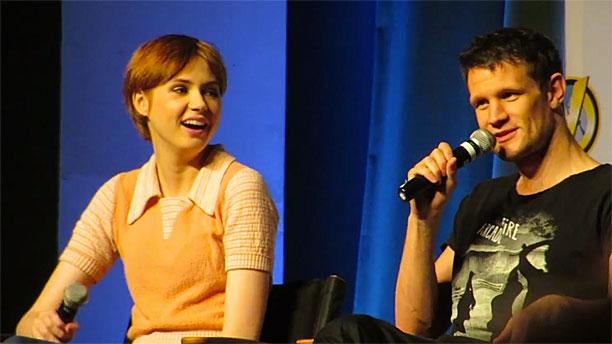 Karen Gillan and Matt Smith at Wizard World Comic Con